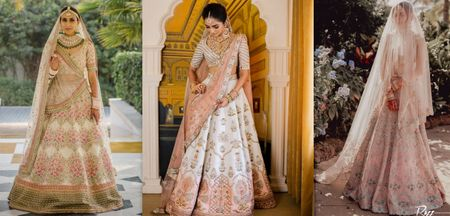 Stunning Pastel-Hued Outfits We Spotted Real Brides In!