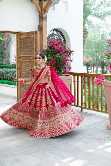 A Modern Dubai Wedding With Gorgeous Bridal Wear!