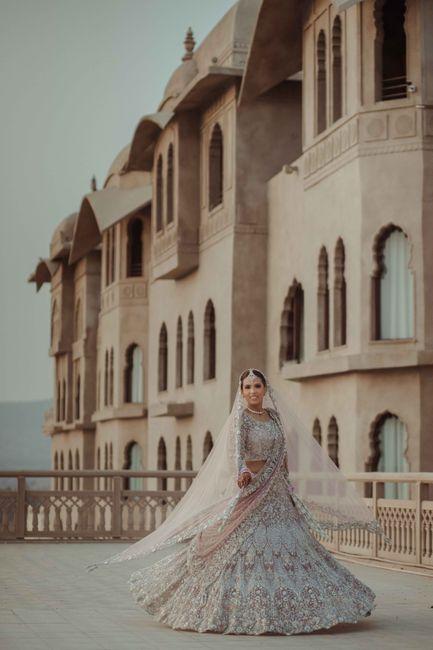 Elegant Jaipur Wedding With A Bride In A Self Designed Lehenga