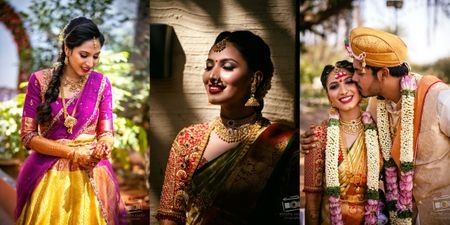 Adorable Bangalore Wedding With The Bride In Glam Outfits