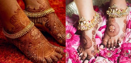 8 Gorgeous Gold Anklet Designs For The South Indian Bride