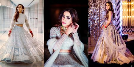 More And More Brides Are Rocking Silver On Their Wedding Functions, & We Love It!