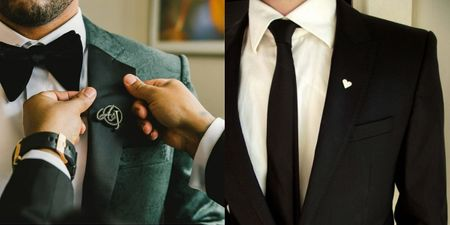 Lapel Pins Can Add A Dash Of Quirkiness For Grooms!