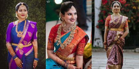 Gorgeous Thick Bridal Kanjeevaram Border Ideas