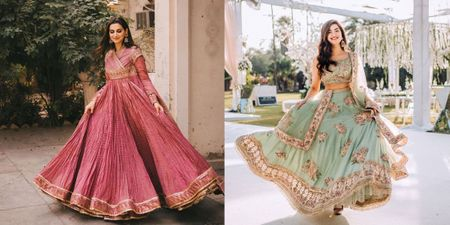 6 Fresh Bridal Outfit Colours We Spotted Recently