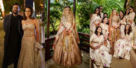 Glam Goa Wedding With An Intimate Vibe!