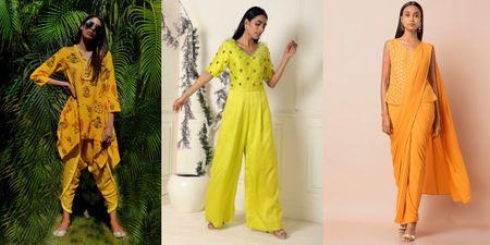 5 Haldi Outfits Under 15k We Found Online For Lockdown Brides