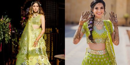 Lime Green Is Taking Over The Mehendi & How!