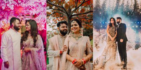 Elegant Wedding With Fabulous Bridal Outfits & Decor Themes!