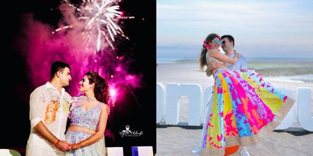 Lively Beachside Wedding With A Bright & Happy Mehendi