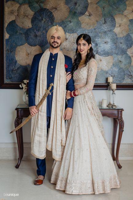 Gorgeously Intimate Chandigarh Wedding With A Pastel Bridal Lehenga