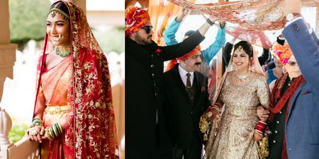 How To Reuse Your Mom's Bridal Dupatta For Your Intimate Wedding!