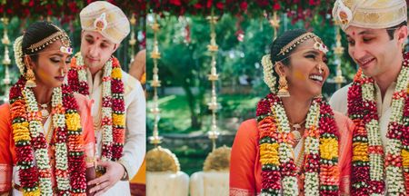 A Fun Bangalore Wedding With Some Stunning Bridal Outfits!