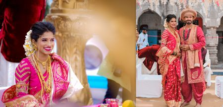 A Traditional Maharashtrian Wedding With A Touch Of Elegant Royalty