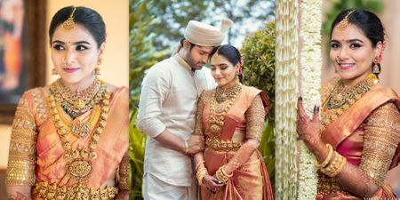 Dreamy Chennai Wedding With An Adorable Love Tale