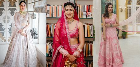 Stunning Outfits That Real Brides Are Wearing For Their At-Home Intimate Weddings!