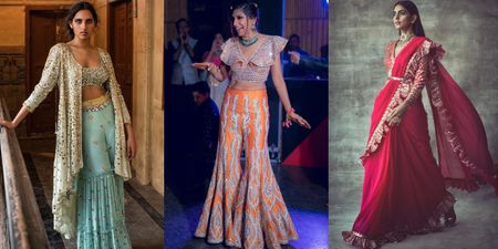 Outfits Other Than A Lehenga For Your Intimate Sangeet!