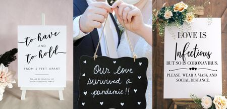 Fun Lockdown-Inspired Quotes That Can Make Way Into Your Intimate Wedding!