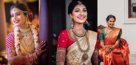 How Contrast Blouses Add A Pop To Your Muhurtham Kanjeevaram Saree