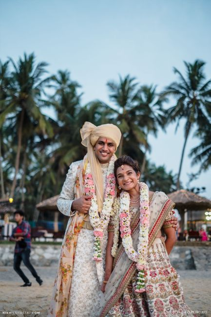 Glamorous Beach Wedding With Whimsically Themed Pre Wedding Functions