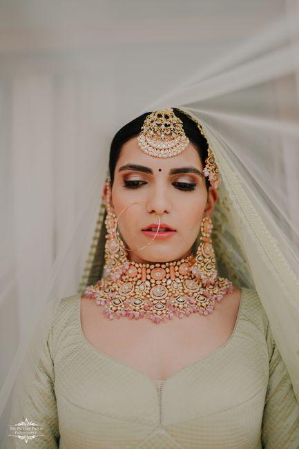 Fun Goa Wedding With The Bride In A Sage Green Bridal Lehenga