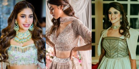 Hairstyles Perfect For A Sangeet Night