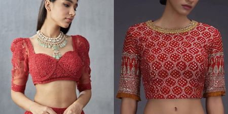 Bridal Blouses You Can Buy Online!