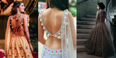 Bridal Back Shots Are Trending on Insta, & Here Are A Few We Love!