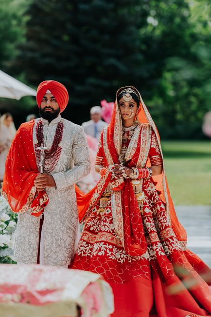 Gorgeous Anand Karaj At Home With A Bride Who Designed Her Own Bridal Outfits