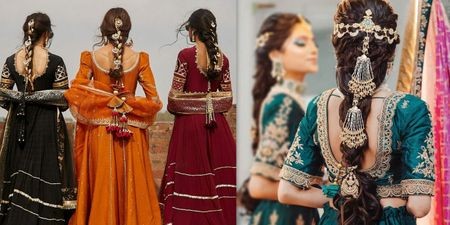 Ditch The Flowers, The Brides Are Moving Towards Embellished Braids