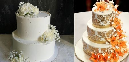 Minimal Cake Ideas For Your Home Wedding!