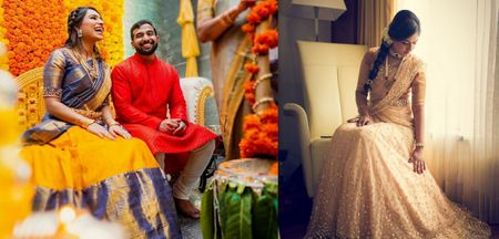 Outfits Other Than A Kanjeevaram For A Traditional Engagement Ceremony