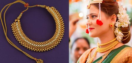 Noteworthy Thushi Designs Every Marathi Bride Would Adore!
