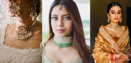 Stunning Chokers You Can Wear At Your Intimate Wedding At Home!