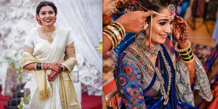Offbeat Maharashtrian Bridal Looks We Totally LOVED!