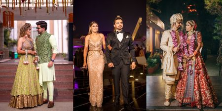 Staycation Wedding In The Outskirts Of Delhi With A Fun Vibe!