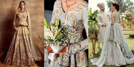 Peplum Blouses For Your Bridal Lehenga!