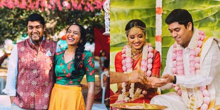 Pretty Chennai Wedding With A Meaningful &  Sustainably Sourced Trousseau!