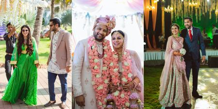 Super Happy Goa Wedding With Self Designed Outfits & A Pyjama Party!