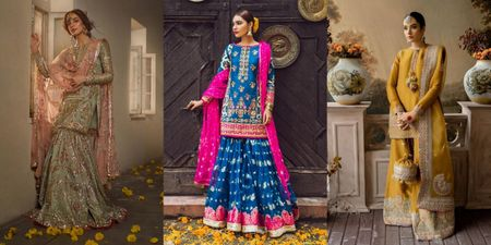 Must-Have In Your Trousseau: Pakistani Ghararas & Shararas