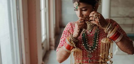 WMG Discovers: This Bride Wore The Prettiest Parrot Kaleeras, And You Must Take A Look!