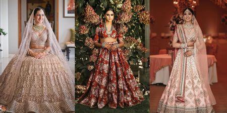 20+ Best Bridal Lehengas For 2020-2021 Weddings