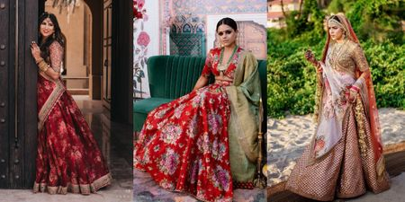 6 Brides Who Picked The Most Offbeat Sabyasachi Lehengas For Their Wedding Functions!