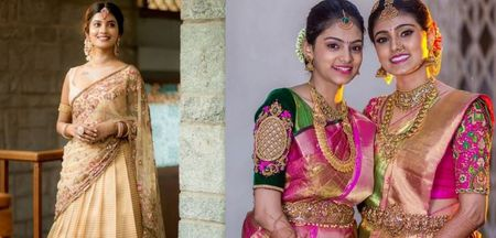 Groom's Sister Look Book: Weddings 2020- 2021: South Indian Style Outfits