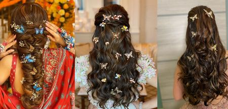#Trending – Stunning Butterfly Hairstyles For Your Big Day!