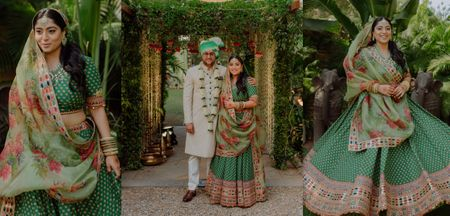 Intimate Ahmedabad Wedding With Gorgeous Decor & Offbeat Bridal Outfits