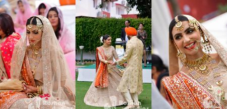 Intimate At-Home Anand Karaj With The Bride In Pastels