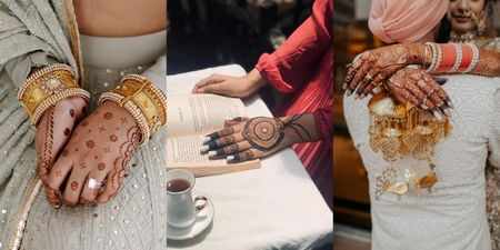 Aesthetic Shot Ideas To Give Your Bridal Henna The Attention It Deserves