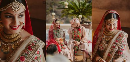 Beautiful Destination Wedding With Pheras By The Hills