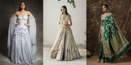 7 Reception Outfits Under 70K That You Can Buy Online!